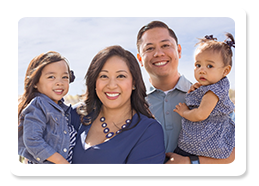 Dr. Shelby Lapiad and family, RiverPark Dentistry