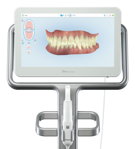 Picture of a digital mouth scanner