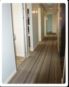 Hallway to Dental Treatment Rooms
